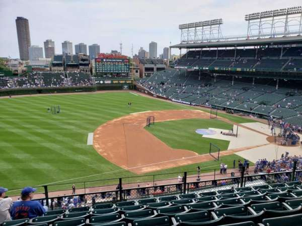 Wrigley Field, section: 308L, row: 7, seat: 10