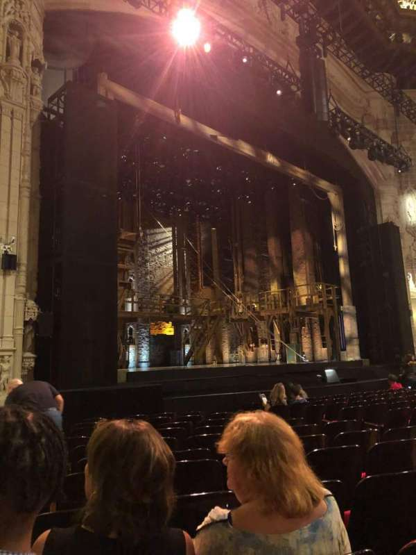 Orpheum Theatre (San Francisco), section: Orchestra L, row: M, seat: 17