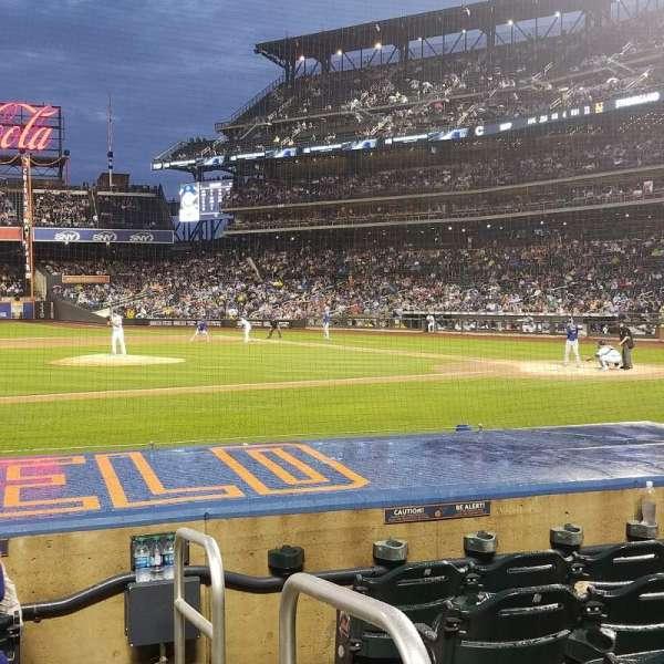 Citi Field, section: 122, row: 6, seat: 1