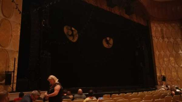 Fisher Theatre, section: MNLT, row: K, seat: 17