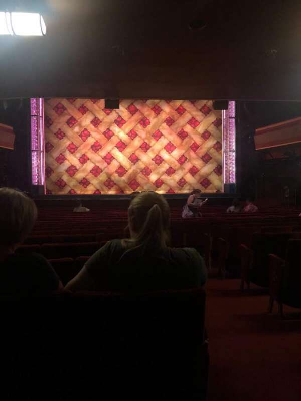 Adelphi Theatre, section: Stalls, row: S, seat: 19