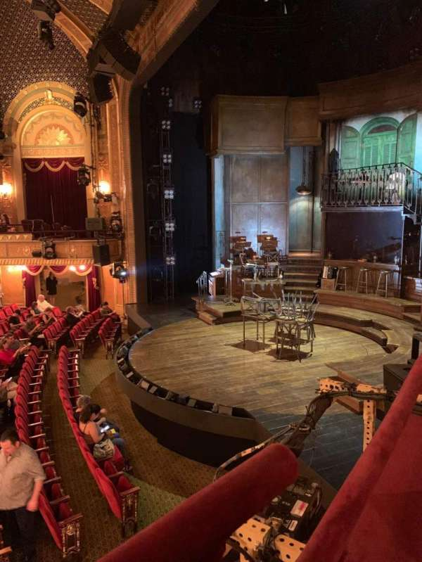 Walter Kerr Theatre, section: Box A, seat: 4