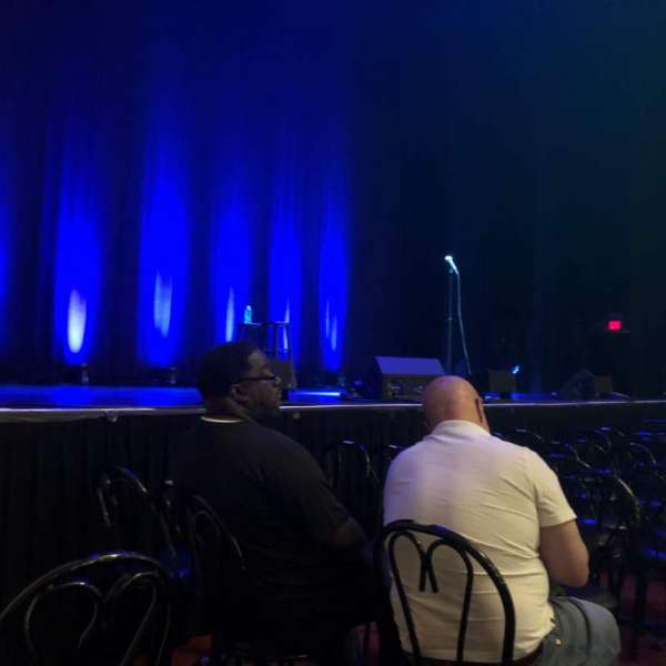 Wilbur Theatre, section: C, row: 3, seat: 3