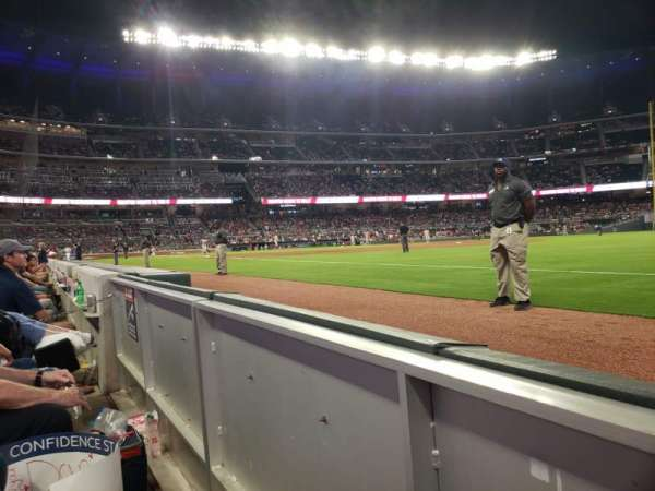 Truist Park, section: 12, row: WC, seat: 8