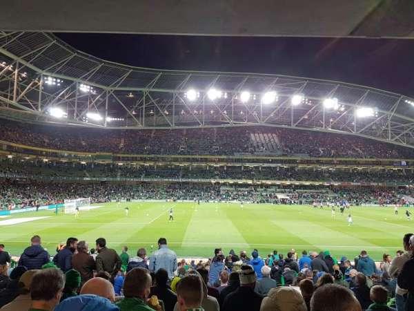 Aviva Stadium, section: 106, row: BB, seat: 25