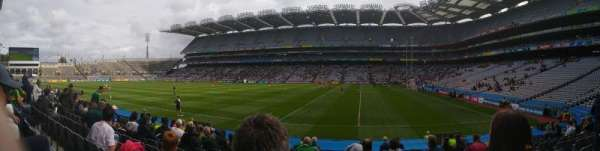 Croke Park, section: 327, row: Q, seat: 23