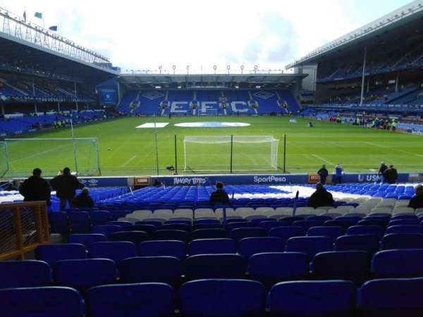 Goodison Park, section: LG4, row: FF, seat: 186