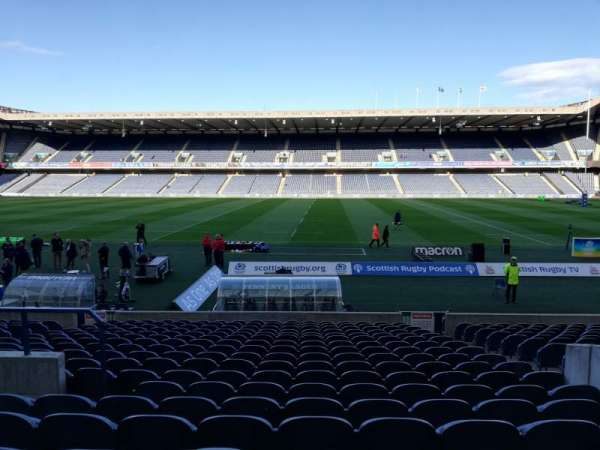 Murrayfield Stadium, section: 17, row: S, seat: 5