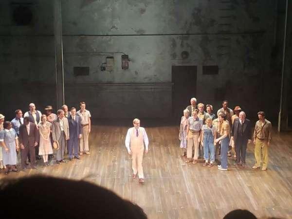 Shubert Theatre, section: Mezzanine C, row: B, seat: 108