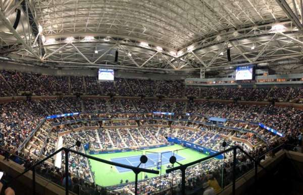 Arthur Ashe Stadium, section: 328, row: C, seat: 3