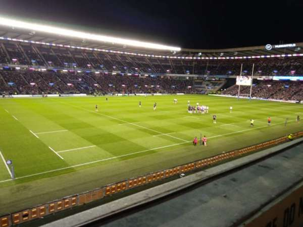 Murrayfield Stadium, section: E20, row: A, seat: 1