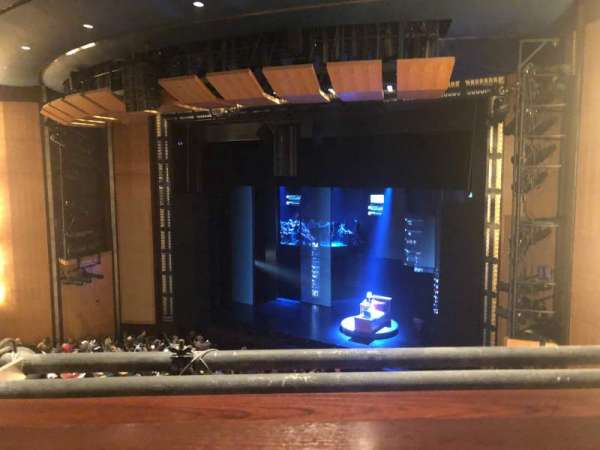 The Kennedy Center Eisenhower Theater, section: Balcony, row: A, seat: 24