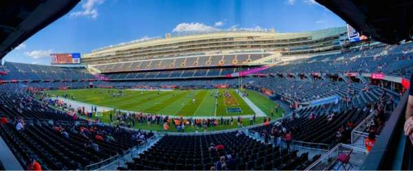 Soldier Field, section: 232, row: 1