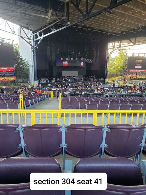 Jiffy Lube Live, section: 304, row: C, seat: 41