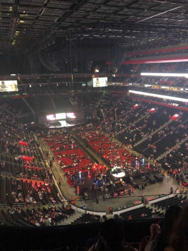 Little Caesars Arena, section: 220, row: 4, seat: 6