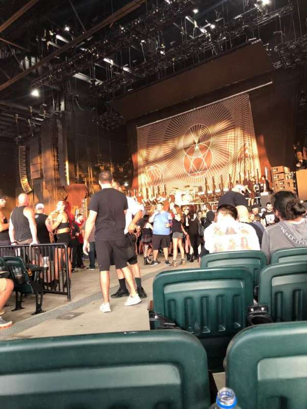 Dos Equis Pavilion, section: 100, row: N, seat: 33