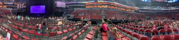KFC Yum! Center, section: 1, row: P, seat: 11