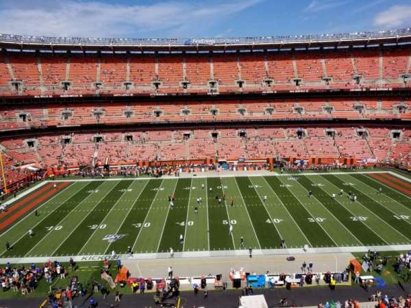 FirstEnergy Stadium, section: 508, row: 1, seat: 15