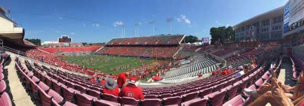Carter-Finley Stadium, section: 215, row: K, seat: 20