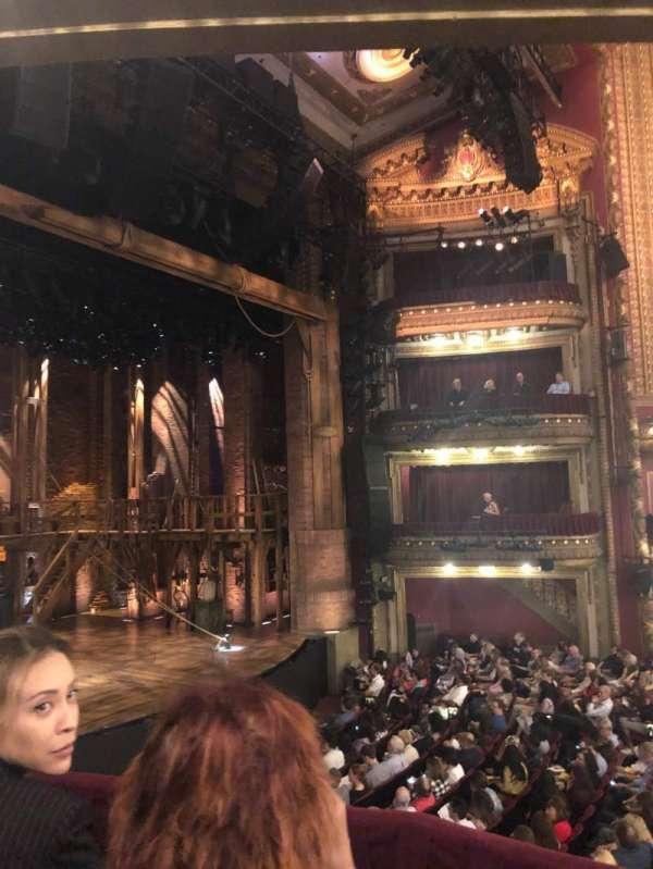 CIBC Theatre, section: Dress Circle Box 1, row: BX1, seat: 213