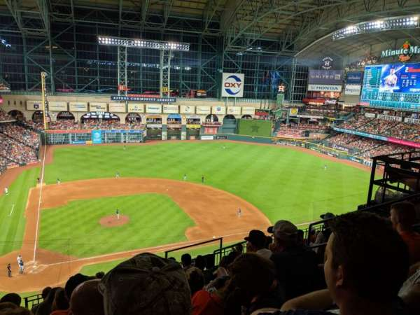 Minute Maid Park, section: 323, row: 8, seat: 9