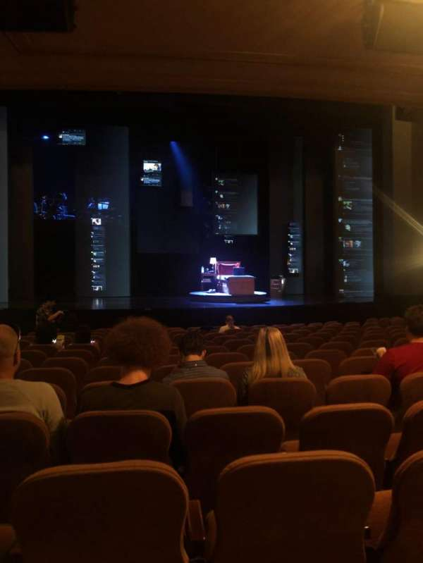 Music Box Theatre, section: Orchestra C, row: O, seat: 111