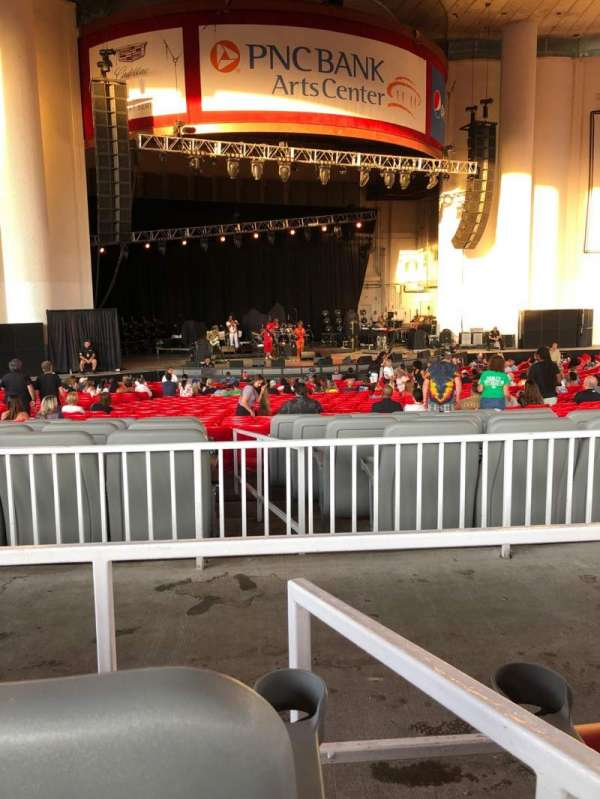 PNC Bank Arts Center, section: 203, row: 34, seat: 6