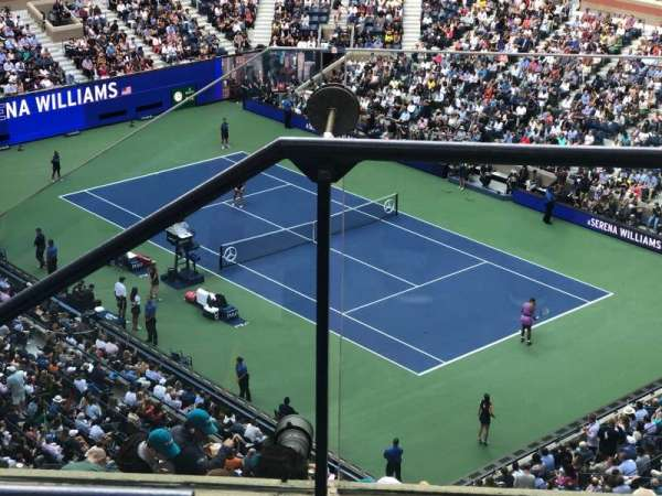 Arthur Ashe Stadium, section: 336, row: C, seat: 1