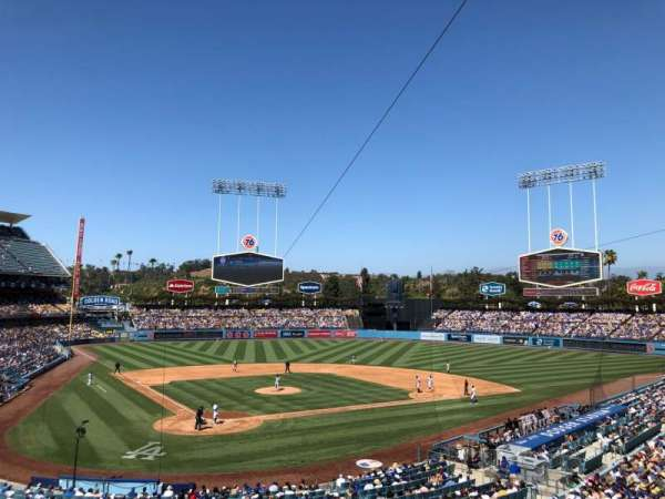 Dodger Stadium, section: 112LG, row: H