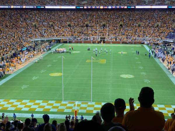 Neyland Stadium, section: K, row: 62, seat: 30
