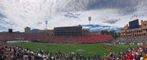 Folsom Field, section: 119, row: 15, seat: 12