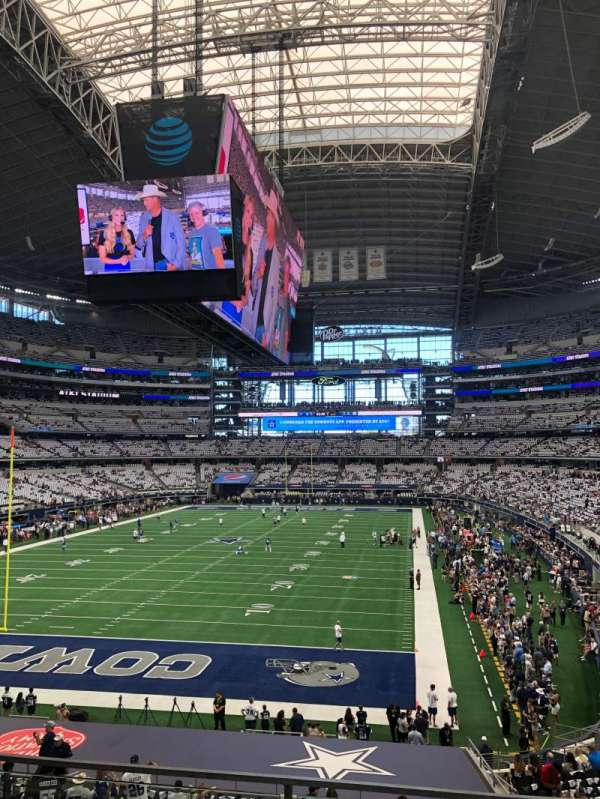 AT&T Stadium, section: 220, row: 3, seat: 7