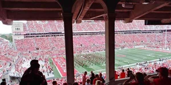 Ohio Stadium, section: 26B, row: 9, seat: 29-31