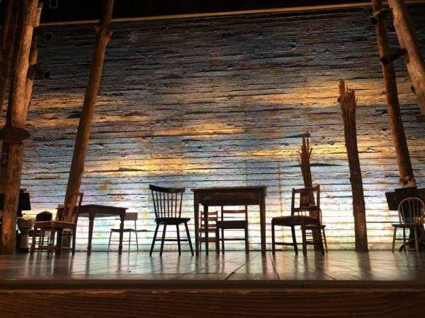 Gerald Schoenfeld Theatre, section: Orchestra C, row: AA, seat: 109
