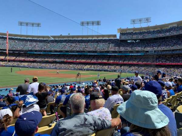 Dodger Stadium, section: 39FD, row: O, seat: 5