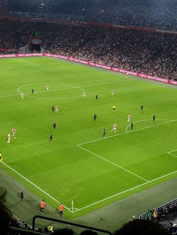 Johan Cruyff Arena, section: 401, row: 15, seat: 384
