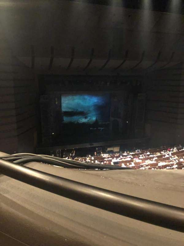 Bass Concert Hall, section: First balcony, row: J, seat: 107