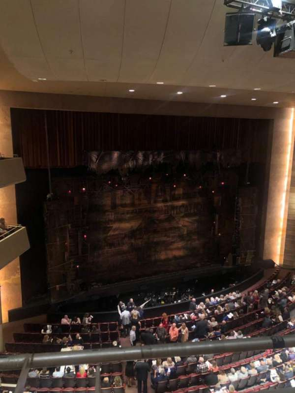 Temple Buell Theatre, section: Balcony D, row: A, seat: 306
