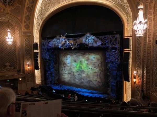 Paramount Theatre (Seattle), section: Mezzanine 11, row: B, seat: 3