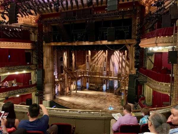 CIBC Theatre, section: Mezzanine R, row: E, seat: 2