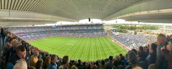 Croke Park, section: 703, row: X, seat: 20