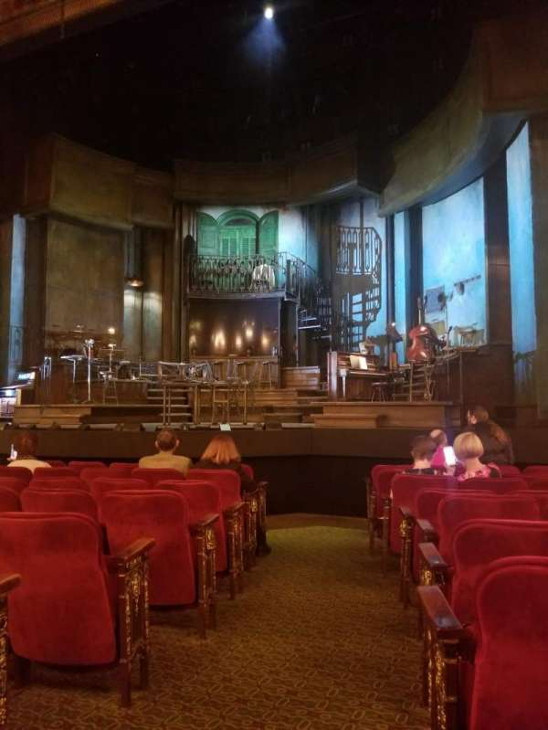 Walter Kerr Theatre, section: Orchestra R, row: K, seat: 2