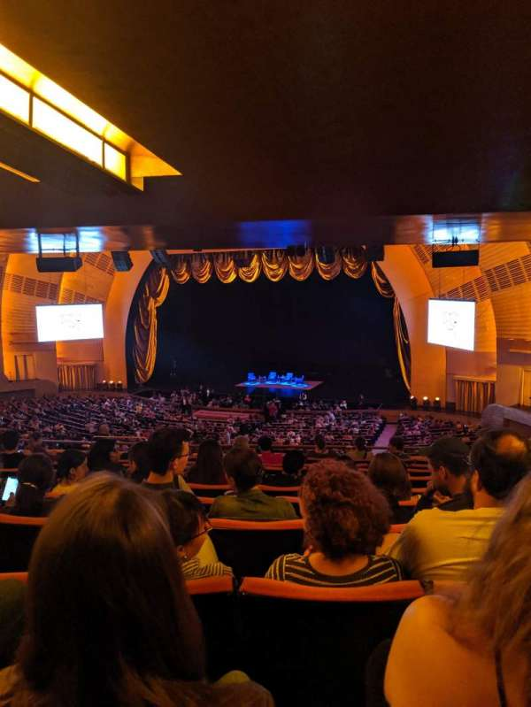 Radio City Music Hall, section: 1ST Mezzanine 2, row: K, seat: 204