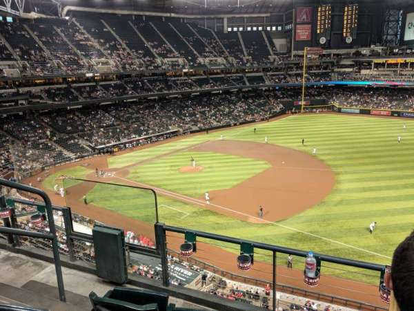 Chase Field, section: 306, row: 3, seat: 16