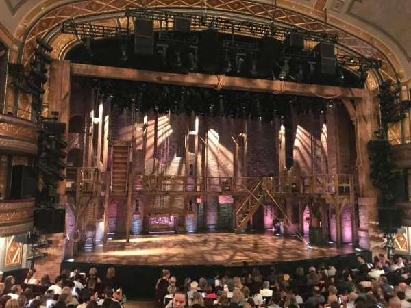Richard Rodgers Theatre, section: OL, row: O, seat: 1