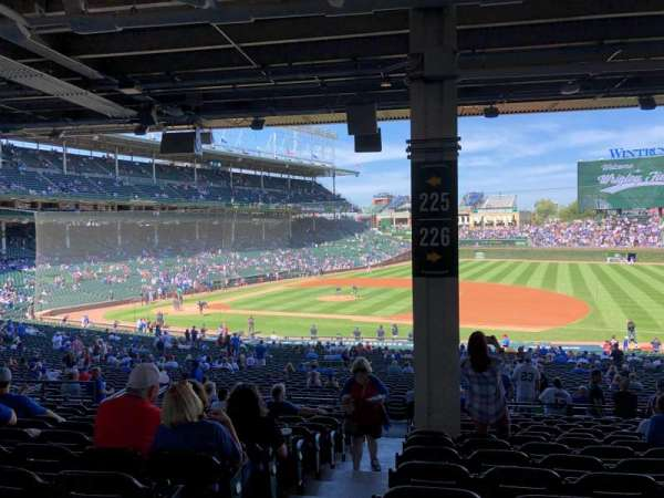 Wrigley Field, section: 226, row: 14, seat: 1