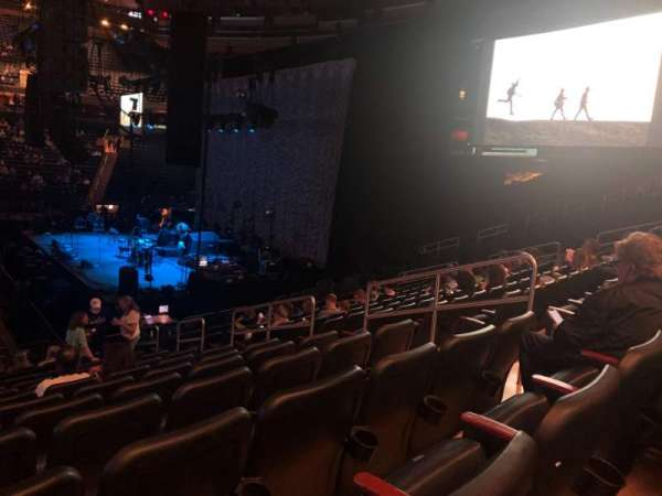 Madison Square Garden, section: 108, row: 16, seat: 15