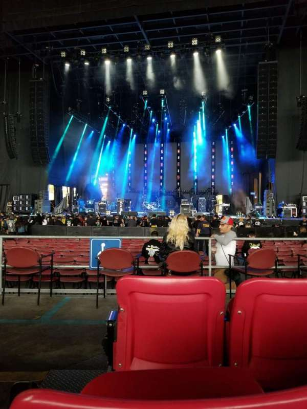 White River Amphitheatre, section: 102, row: 3, seat: 17