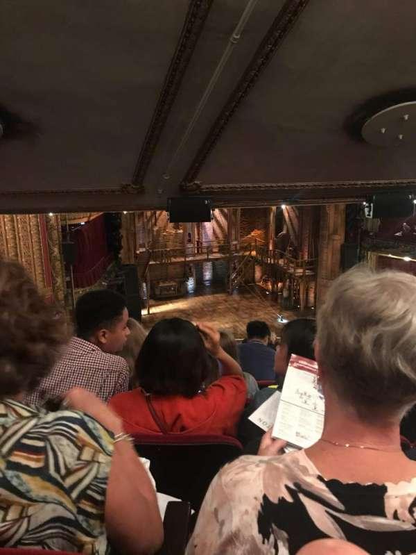 CIBC Theatre, section: Mezzanine L, row: M, seat: 9