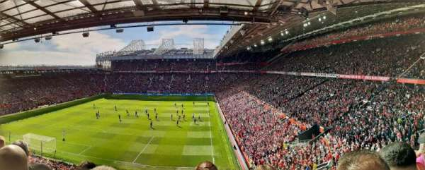 Old Trafford, section: E336, row: 3, seat: 22